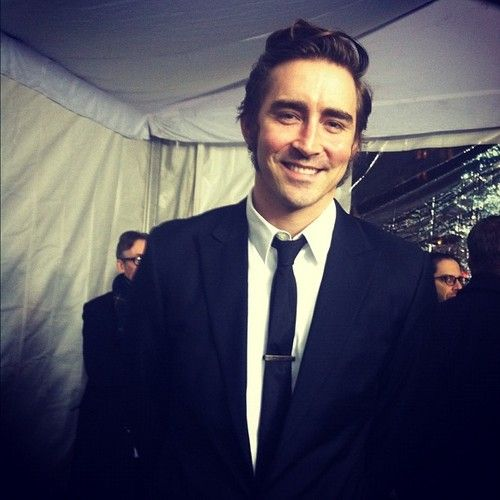 The Elven King Thranduil is here! Lee Pace at the NYC premiere of The Hobbit