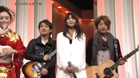 ▶ 第60回 紅白歌合戦 いきものがかり -YELL 2009.12.31 - Dailymotion動画
