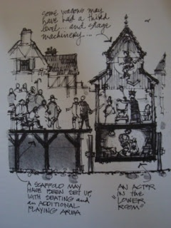 Medieval Theatre: Movable Stage: Pageant Wagon By Lesley