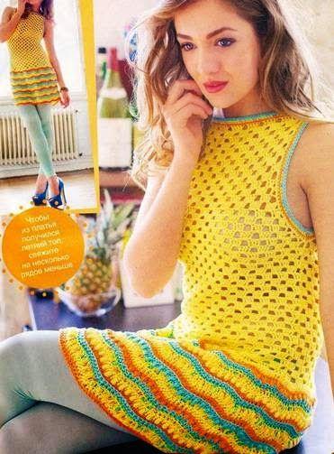 Crochet trésor: Robes courtes