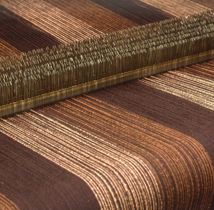 The warp is the set of lengthwise yarns that are held in tension on the loom #Agnona manufactures its own garments starting from a selection of finest natural fibers that it transforms into sophisticated #yarns, which are woven to make #luxurious, refined fabrics. Courtesy of Casa Zegna