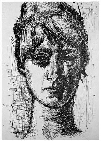 Eva Prokopová autoportrét
