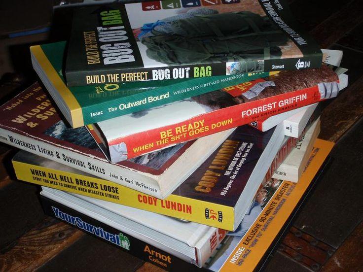 15 best survival books http://www.outdoorlife.com/photos/gallery/survival/2012/11/15-best-survival-books-ever-written