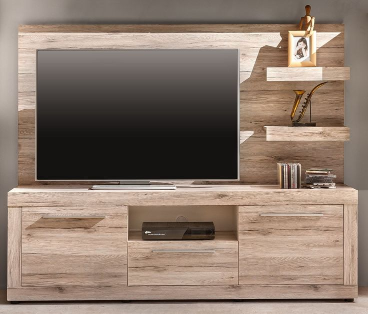 die besten 25 tv lowboard holz ideen auf pinterest tv wand lowboard tv wand do it yourself. Black Bedroom Furniture Sets. Home Design Ideas