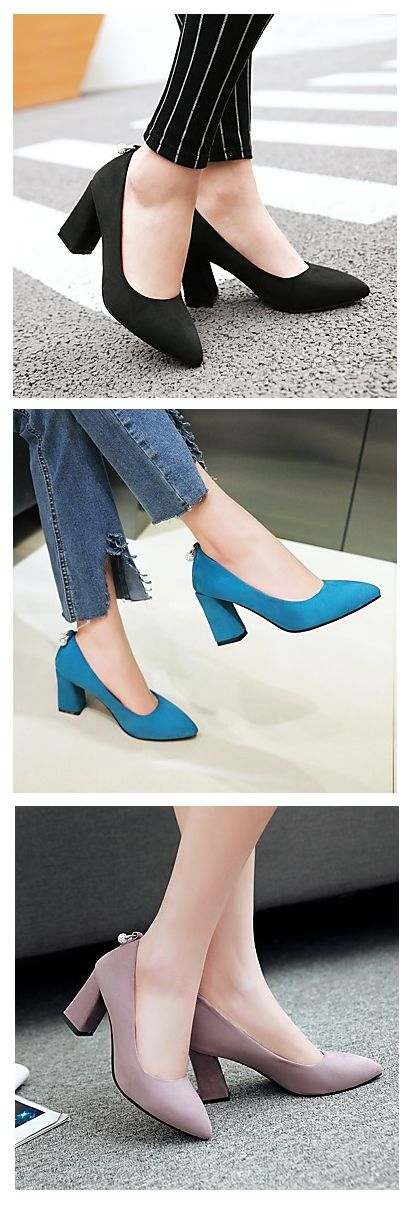 There is never too many shoes!!! Wear these cuties in black/ blue/ pink/ beige colors at €30.37