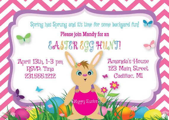 13 best Easter Dinner Party Invitations images on Pinterest