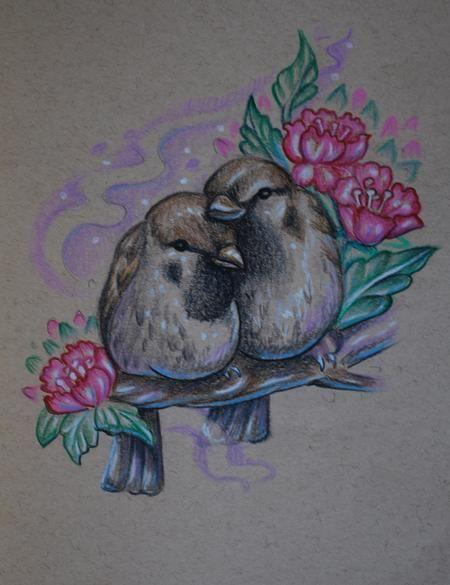 love bird tattoo - Google Search