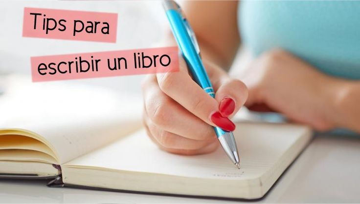 tips para escribir un libro