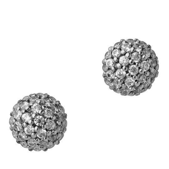 Miniature Sparkle øredobber, sølv, byBiehl, Charlotte Biehl