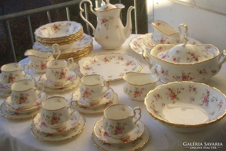 EXTRÉM !Angol Barokk Royal Albert Tenderness ét/teás/kávés/