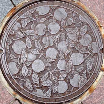 Minnesota. All this took was one person deciding to do something well - and then doing it, even manhole covers can add to the beauty of the world.