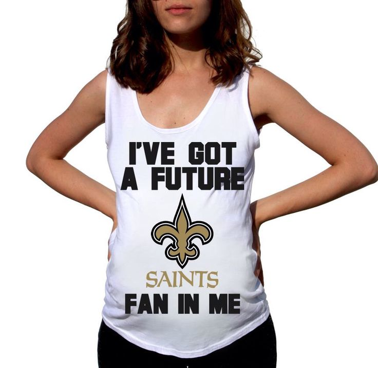 My Saints New Orleans Saints Baby New Orleans Saints Shirt Women Maternity  Shirt Funny Football Pregnancy Pregnancy Shirts ... 1b114013f
