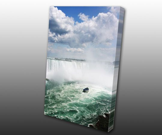 Falling in Love in Niagara Falls, Canvas Gallery Wrap by www.TorontoOnCanvas.com