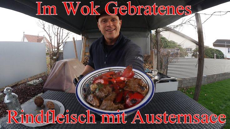 Hallo Ich begrüsse euch zu, Grill & Chill BBQ & Lifestyle Hier die Zutaten für Gebratenes Rindfleisch mit Austernsauce: 150 g mageres Rindfleisch, z.B. Rinde...