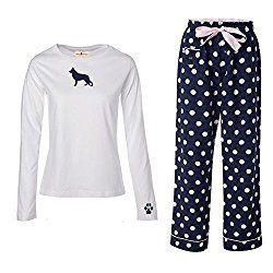 Comfy German Shepherd Flannel Pajamas & Cotton Nightwear