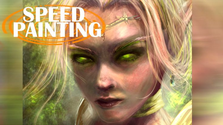 BLOOD ELF || Ps Speed Painting