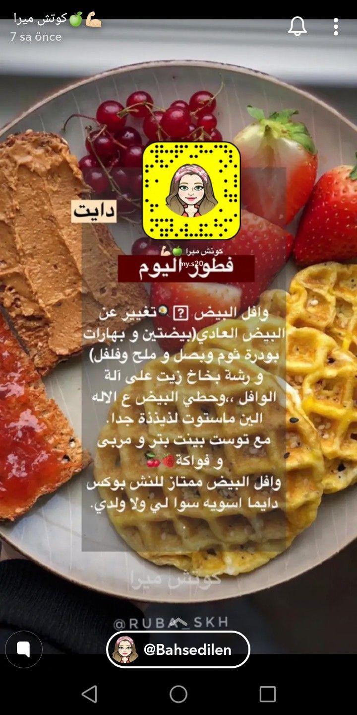 Pin By Wissal Lahouirich On Kahvalti Food Breakfast Waffles