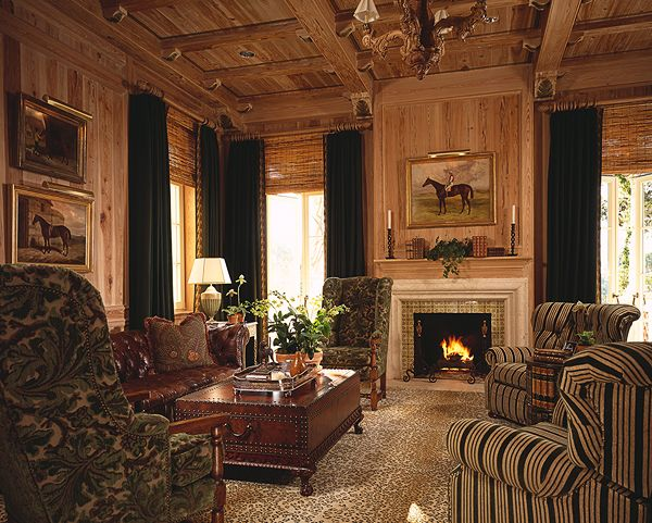 Gorgeous room....so warm and moody, it just glows (The Enchanted Home: Designer spotlight: Scott Snyder)