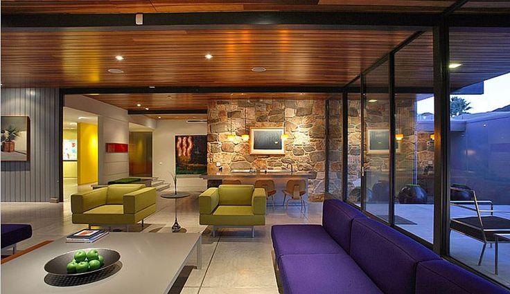 Louez la maison de Leonardo DiCaprio | CHEZ SOI Photo: ©dinahshorewexler.com #deco #maisondereve #maisondestar #immobilier #location #luxe #PalmSprings