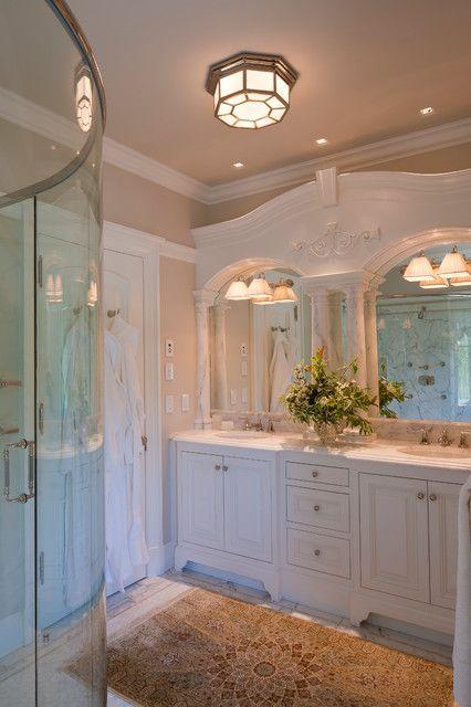 Beautiful marble vanity.
