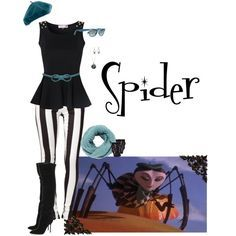"Ms. Spider from ""James and the Giant Peach"""
