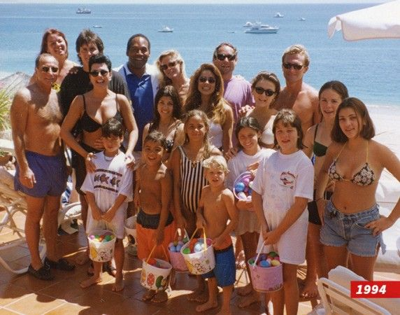 Photo of Bruce Kris OJ Simpson late Nicole Kim Khloe & others at Cabo in 1994   This photo was taken in April 1994. OJ Simpson and his late wife Nicole Simpson and the Jenners went to Cabo ...and according to TMZ the trip was a last-ditch effort to see if O.J. and Nicole could ever reconcile. Nicole insisted the relationship was over and O.J. went off the rails. She was killed on June 12th of the same year. Just two months after this photo was taken.  Bruce Khloe Kim Kris late Nicole OJ…