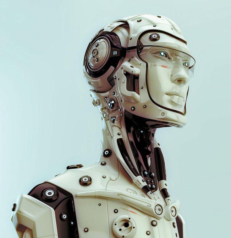 3D Art: Futuristic Robotic Man - 3D, Sci-fiCoolvibe – Digital Art