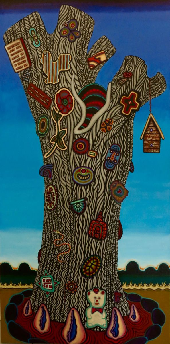 """Michael Noland, A MAP OF THE WORLD, Oil on Canvas, 72 x 36"""", Tory Folliard Gallery"""
