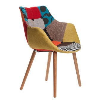 Židle Eleven Patchwork Beech | Bonami
