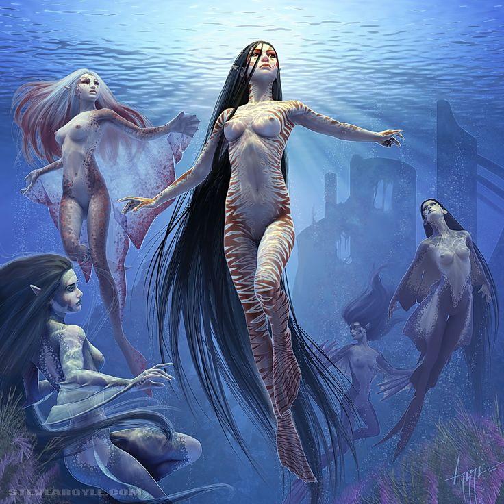 Sexy Fantasy Art | heavymettle:Thalaasa natural Er nude by Steve Argyle ia fc09 ...