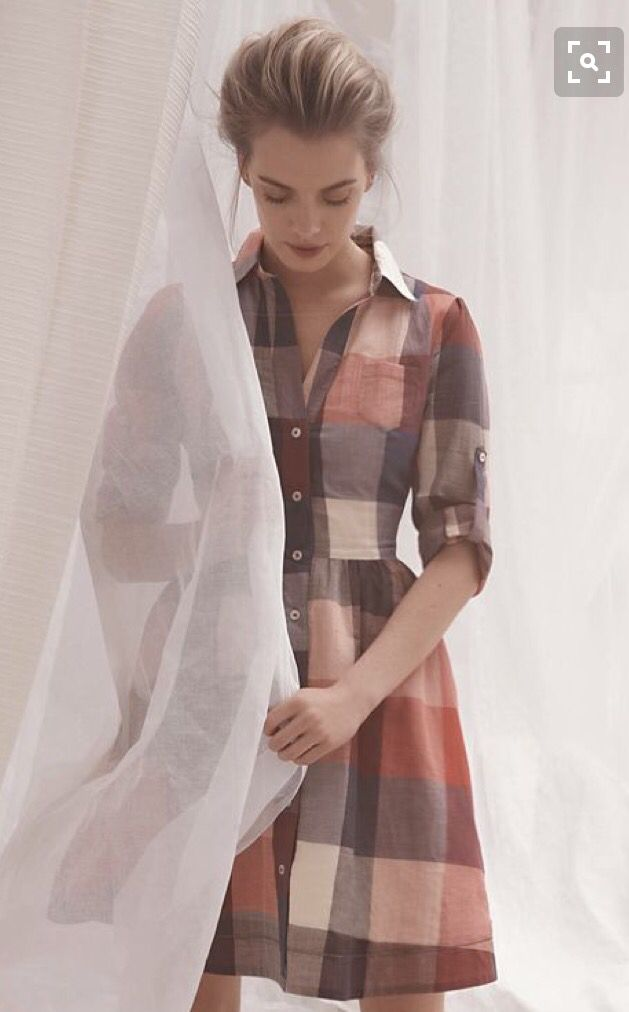Love this Beautiful plaid button up/collared shirt dress.  Perfect for fall!  Stitch fix 2016. Stitch fix fall 2016.  Stitch fix winter 2016.  Fall  fashion trends and inspiration.