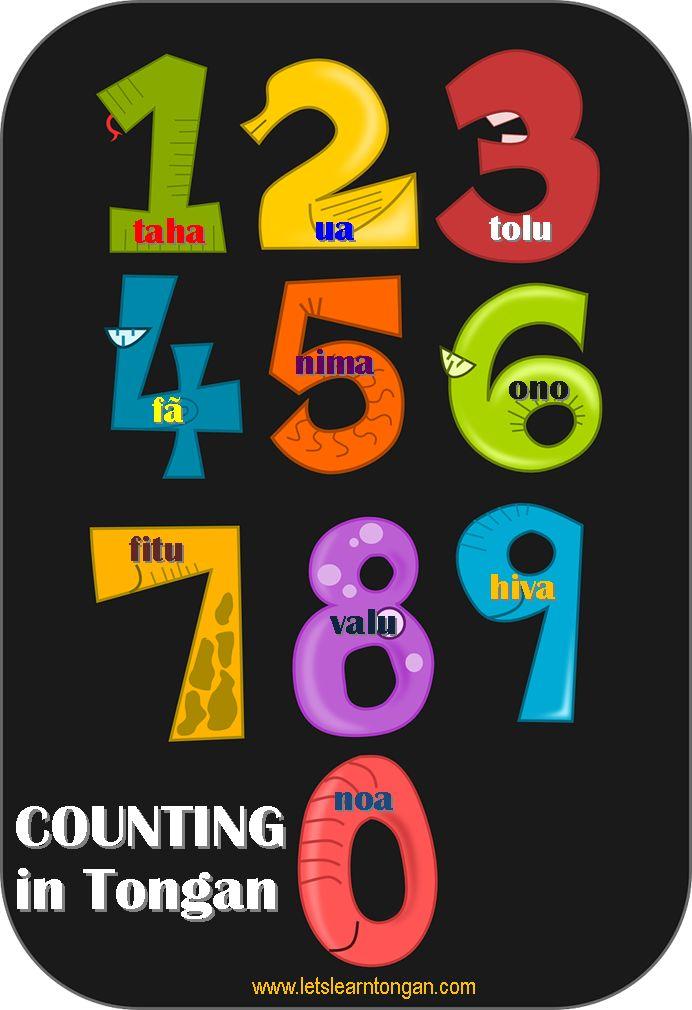 Counting in Tongan