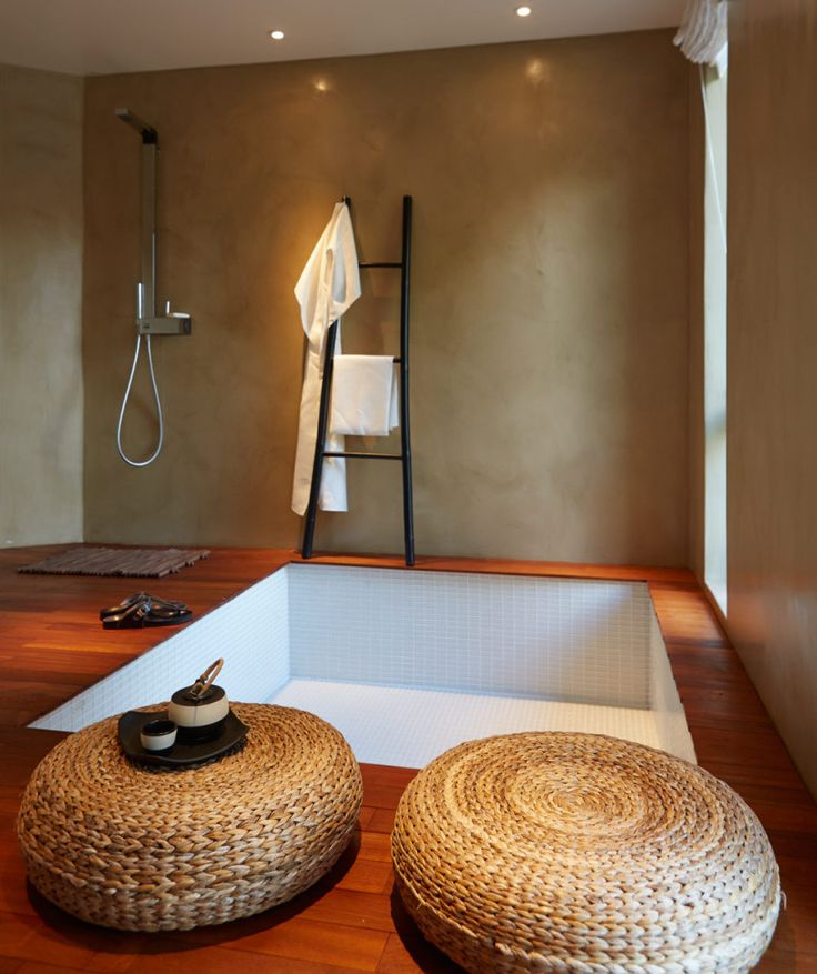 Modernt renoverat badrum i villa