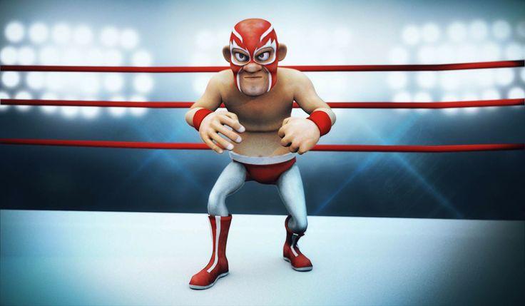 luchador-rojo on Behance