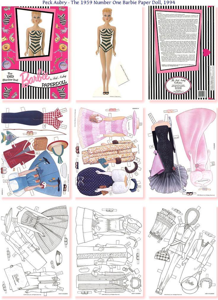 Barbie - This Barbie's Clothes Might Fit Mini Barbie For Your Barbie #P-2/2