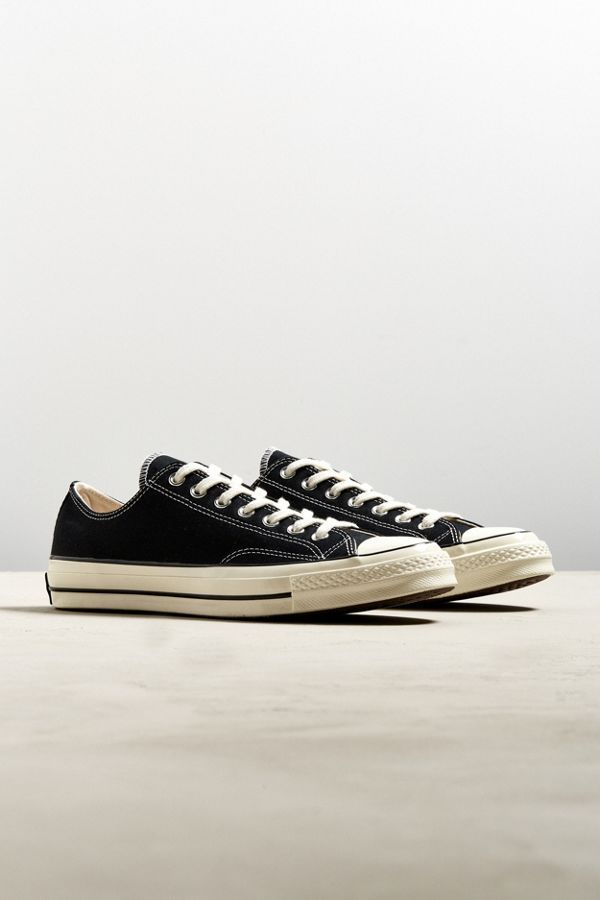 converse 70s black low