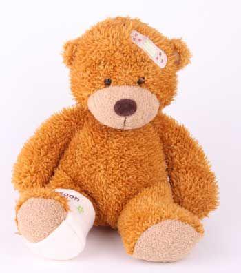 teddy bears | Bonnie Get Well Bandaged Teddy Bear