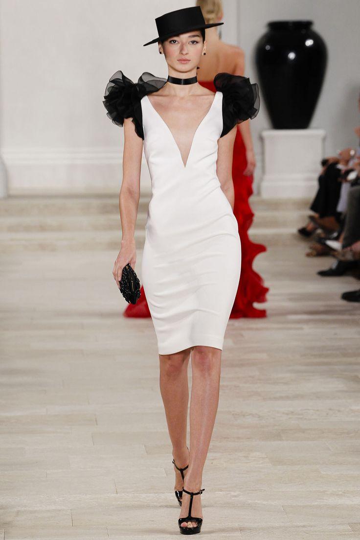 手机壳定制asics kayano red white blue Ralph Lauren Spring   Ready to Wear Collection Photos  Vogue