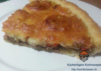 Rindfleisch-Fajita-Kuchen – Küchentigers Rezepte Blog