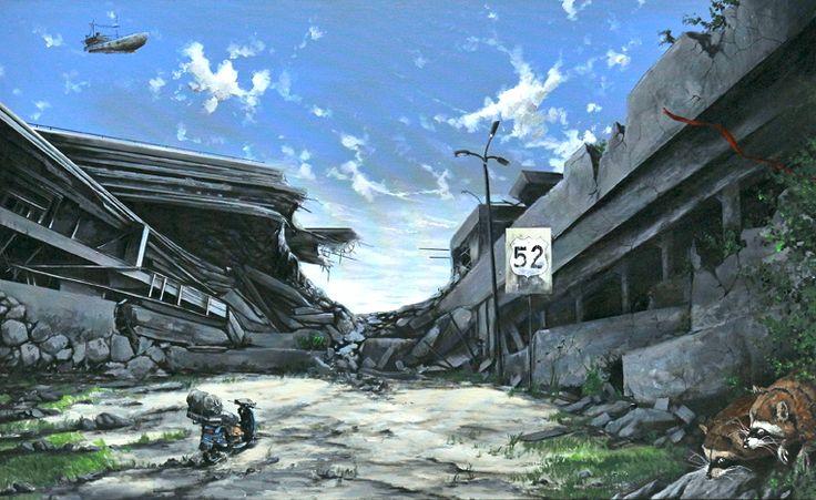 Serdar-Akkilic-Noahs-Ark-I100x160cmacrylic-on-canvas2012.jpg (762×467)
