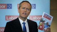 Bill Shorten with Labor's economic plan,