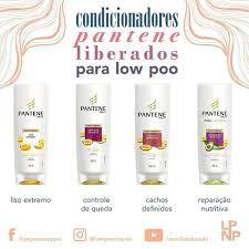 Resultado de imagem para shampoo pantene liberados para low poo