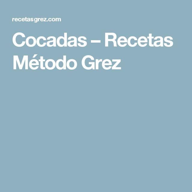 Cocadas – Recetas Método Grez