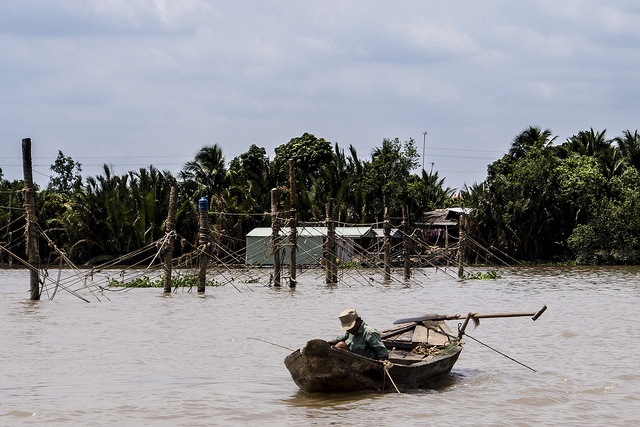 Fishing in the Mekong Delta by markwr, via Flickr