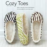 Cozy Toes: Free Sewing Pattern                                                                                                                                                     More