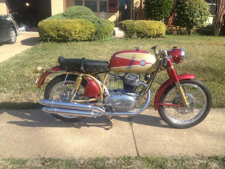 Vintage Benelli Motorcycle 110