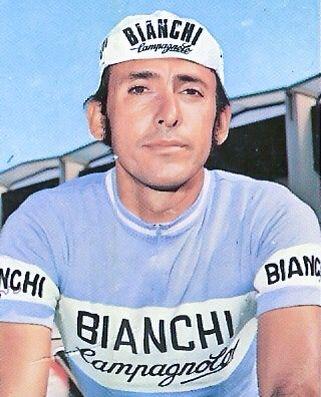 """Martín Emilio """"Cochise"""" Rodríguez, primer colombiano en correr el Tour d' France de 1975 en donde ocupó el puesto 27°."""