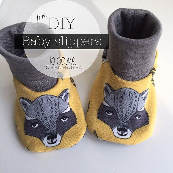 Bloome Copenhagen: DIY - Baby Slippers