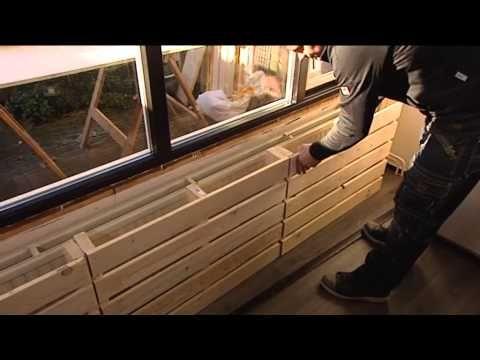 Eigen Huis & Tuin |Afl. 20| Radiatorombouw van pallets