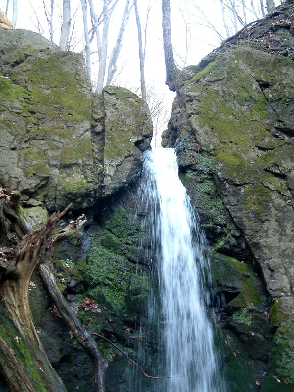 Waterfall of Ilona-völgy